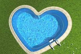 coeur piscine